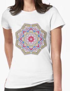 Mandala - Circle Ethnic Ornament Womens Fitted T-Shirt