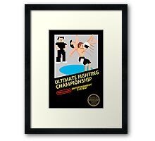 UFC in 8-bit  Framed Print
