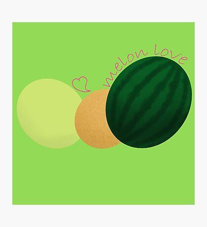 Melon love Photographic Print