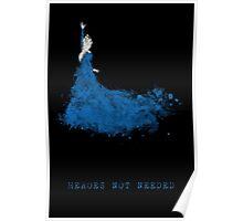 Elsa - heroesNOTneeded Poster