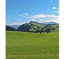 Green mountains (Italy) Photographic Print