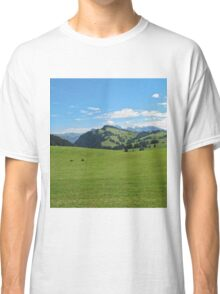 Green mountains (Italy) Classic T-Shirt