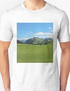 Green mountains (Italy) Unisex T-Shirt
