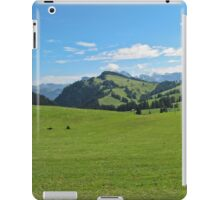 Green mountains (Italy) iPad Case/Skin