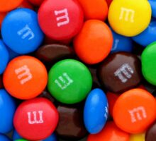 M&M's  Sticker