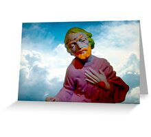 Mystic Trickster Greeting Card