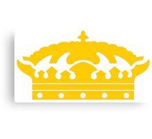 Corona Crown Canvas Print