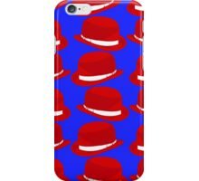 Classic British Bowler Hat iPhone Case/Skin