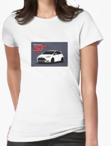 Ford Focus ST graphic Womens Fitted T-Shirt