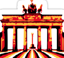 Brandenburg Gate / Brandenburger Tor Sticker