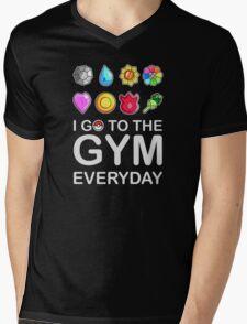 I go to the GYM everyday Mens V-Neck T-Shirt