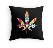 Trippy Doob Throw Pillow