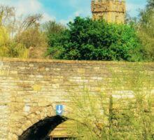 Bidford on Avon Riverside Sticker