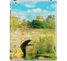 Bidford on Avon Riverside iPad Case/Skin