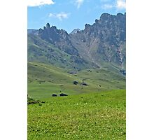Green mountains (Italy)2 Photographic Print