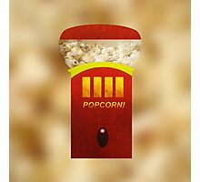 Popcorn Machine  Photographic Print
