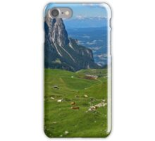 View from the top of a mountain iPhone Case/Skin