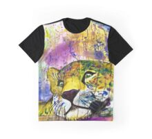 Daydreaming Leopard Graphic T-Shirt