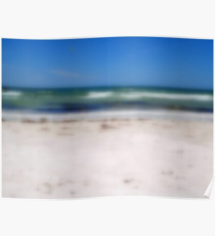 Sand, Surf, and Sky Poster