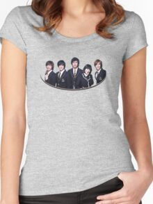 Boys Before Flowers Women's Fitted Scoop T-Shirt