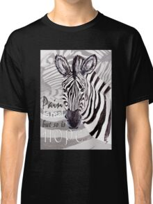 Zebra for Hope Classic T-Shirt