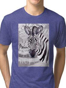 Zebra for Hope Tri-blend T-Shirt