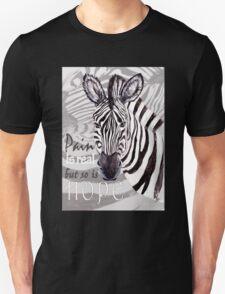 Zebra for Hope Unisex T-Shirt