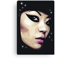vector face Canvas Print