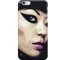 vector face iPhone Case/Skin