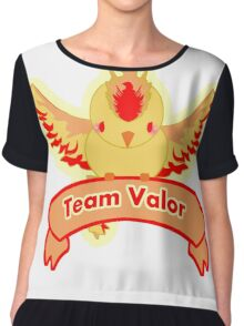 Team Valor  Chiffon Top