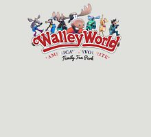 Walley World - America's Favourite Curved Logo Variant Womens Fitted T-Shirt