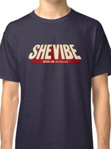 SheVibe Comic Logo Classic T-Shirt