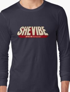 SheVibe Comic Logo Long Sleeve T-Shirt