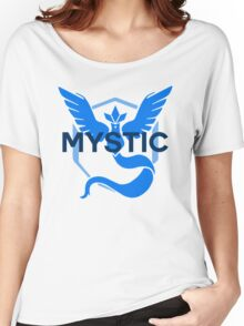 Pokemon GO: Team Mystic Simple Women's Relaxed Fit T-Shirt