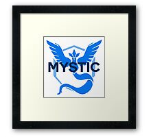 Pokemon GO: Team Mystic Simple Framed Print