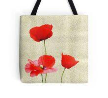 Poppy Days Tote Bag