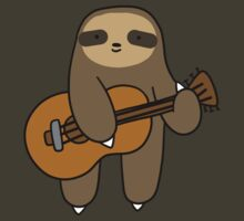 Guitar Sloth by SaradaBoru