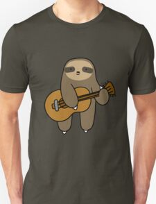 Guitar Sloth Unisex T-Shirt