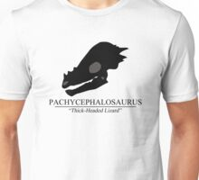 Pachycephalosaurus Skull Unisex T-Shirt