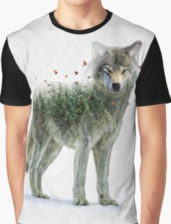 Wild I Shall Stay | Wolf Graphic T-Shirt