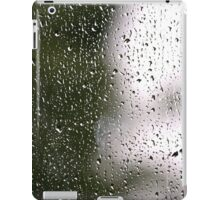 Raindrops on a Window - Cases, Pillows and Totes iPad Case/Skin