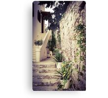 Stairway to ...? Canvas Print
