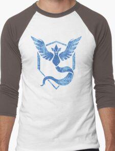 Team Mystic - Pokemon GO (Distress) Men's Baseball ¾ T-Shirt