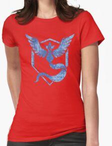 Team Mystic - Pokemon GO (Distress) Womens Fitted T-Shirt