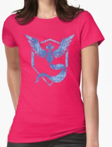 Team Mystic - Pokemon GO (Distress) Womens Fitted T-Shirt
