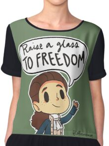 Raise a glass to FREEDOM Chiffon Top