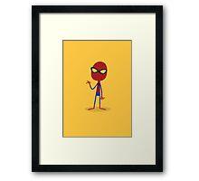 Little Spider-Man Framed Print
