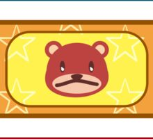 bear-aid 1 Sticker