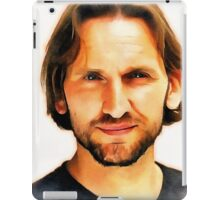 Christopher Eccleston Portrait iPad Case/Skin