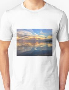 Sunset Sky Reflection  Unisex T-Shirt